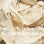 pure pueraria mirifica or white khao krua for natural breast enlargement